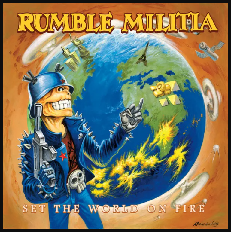 Rumble Militia – Set The World On Fire. (Alemania/2020)